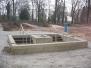 Barfußpfad Werdegang  im Jungbornpark